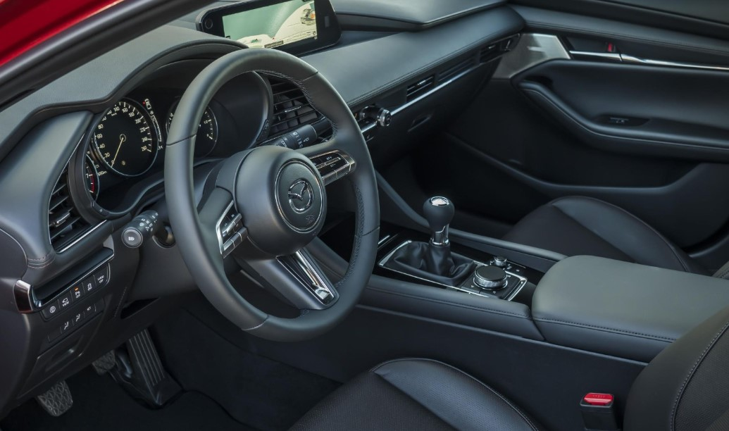 2021 Mazda 3 Hatchback Interior
