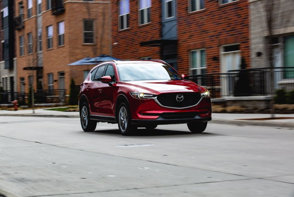 2021 Mazda CX-5 Facelift Change
