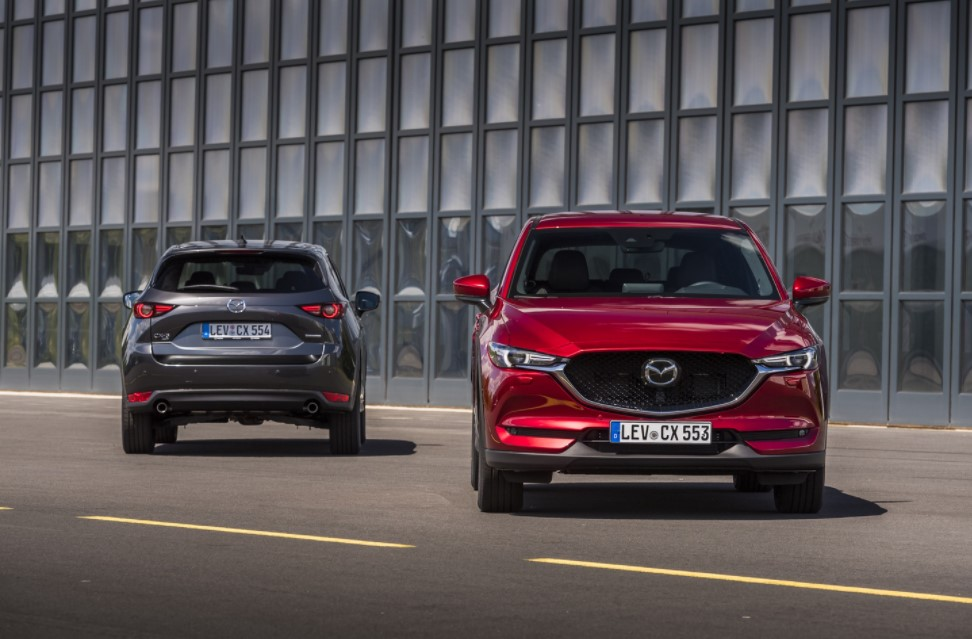 2021 Mazda CX-5 Facelift Exterior Redesign