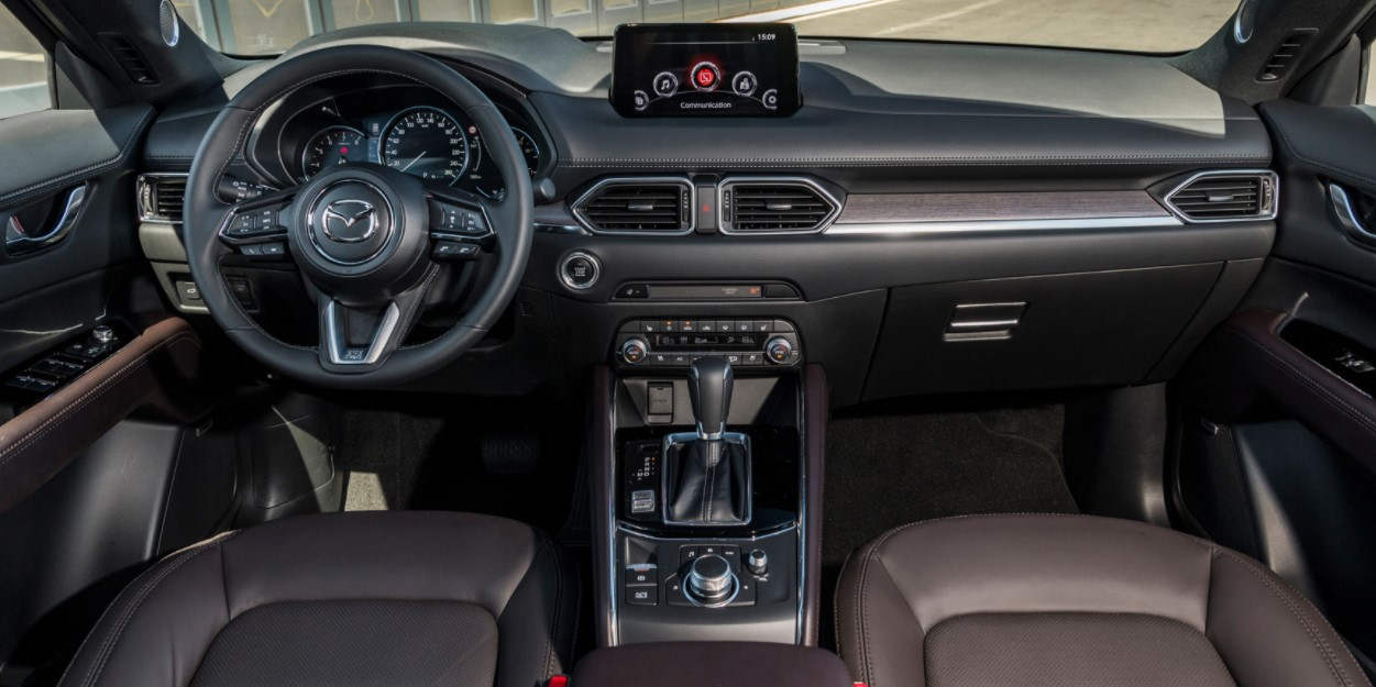 2021 Mazda CX-5 Facelift Interior