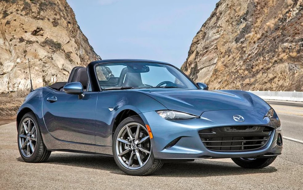 2021 Mazda MX-5 Convertible Changes