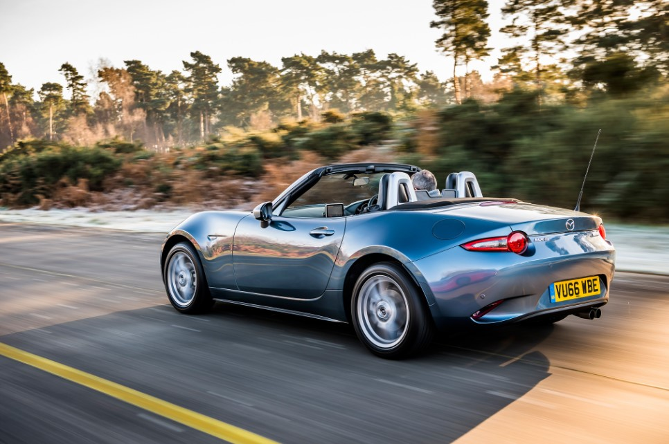 2021 Mazda MX-5 Convertible Transmission