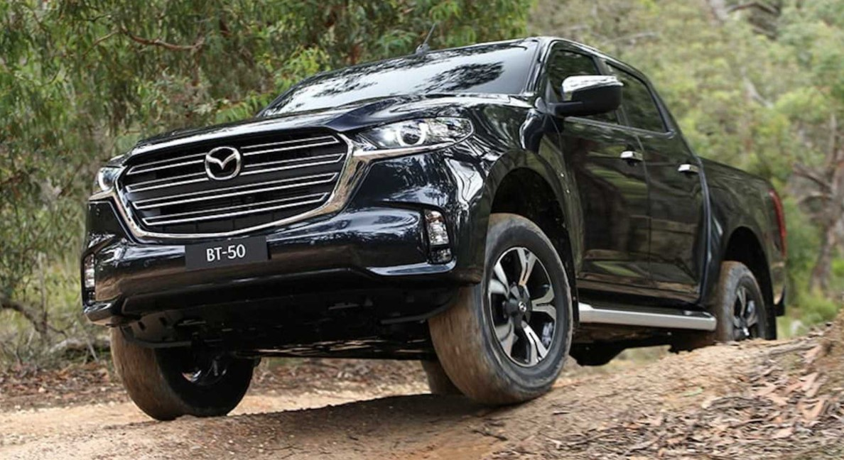 New 2022 Mazda BT-50 Automatic Transmission, Towing Cpacity