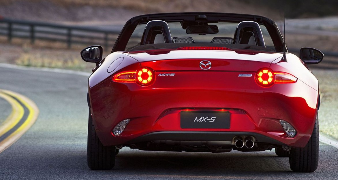 2022 Mazda MX-5 Roadster Color Options