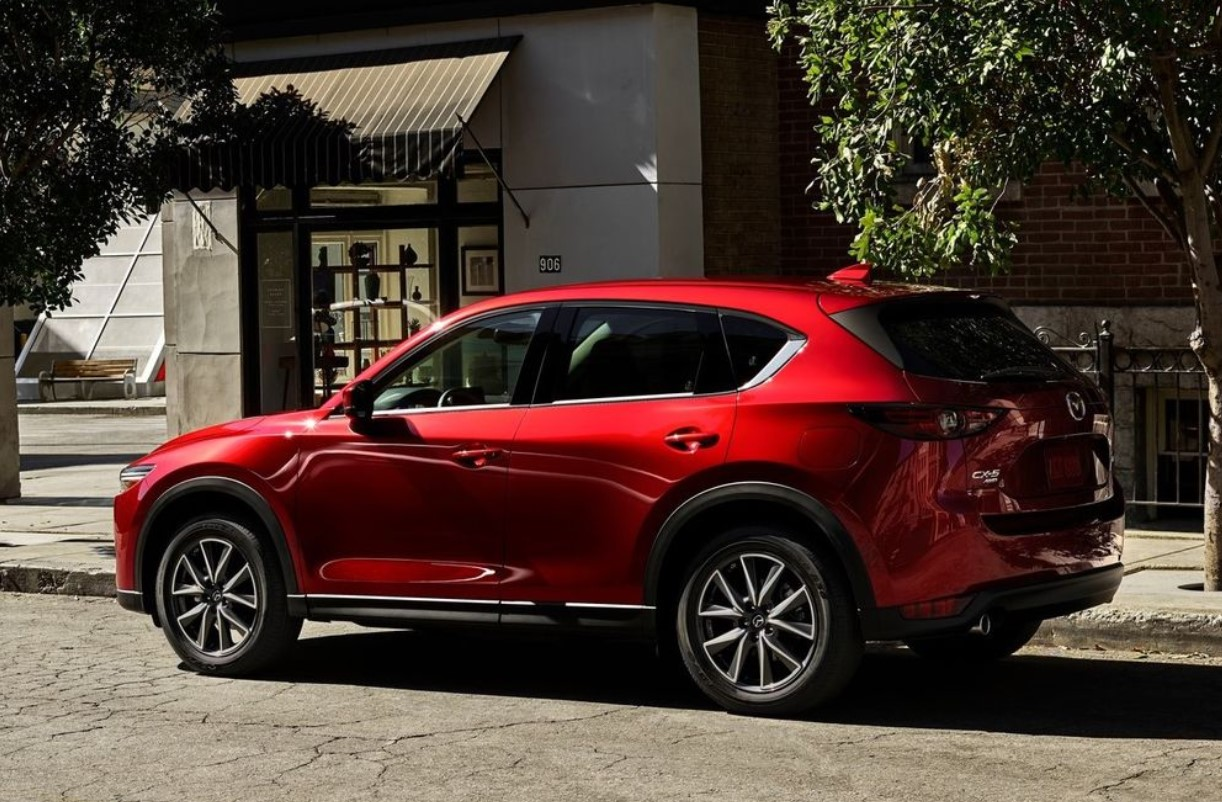 Mazda CX-5 Diesel Color Options