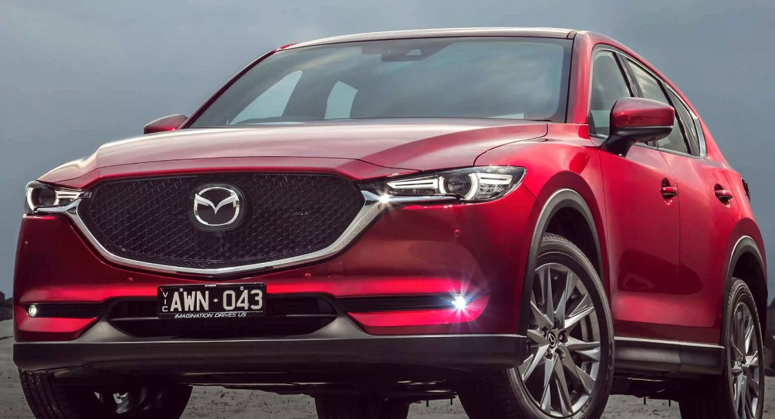 2021 Mazda CX-5 Spy Photo