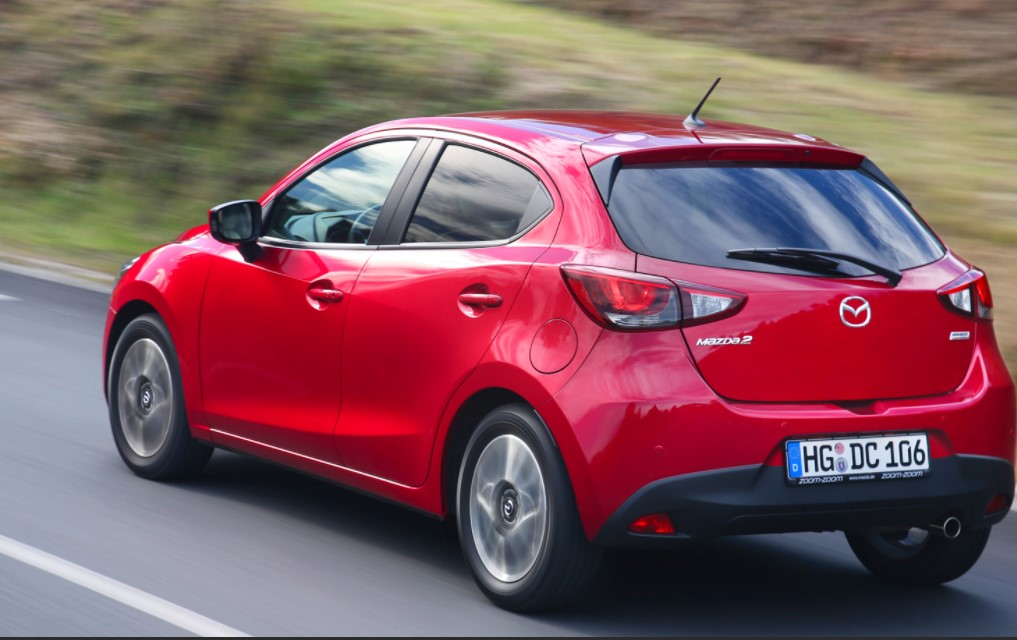 2022 Mazda 2 Color Options