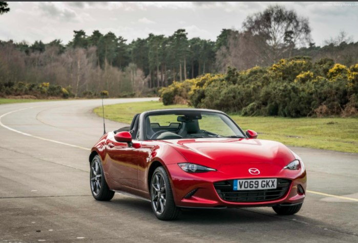 2022 Mazda MX-5 Color Option