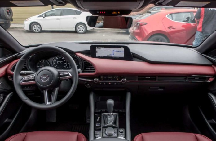 2022 Mazda3 Electric Interior
