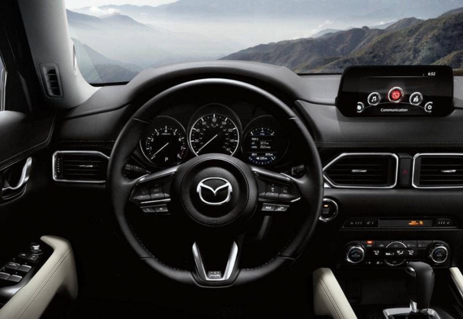2022 Mazda CX 5 Interior Change