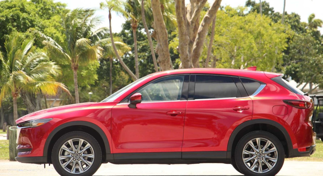 2022 Mazda CX-5 Signature Change