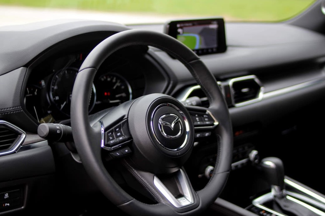 2022 Mazda CX-5 Signature Interior