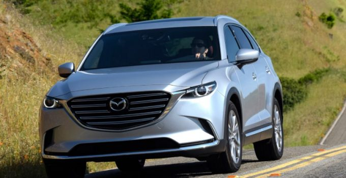 2022 Mazda CX-9 Spy Photo