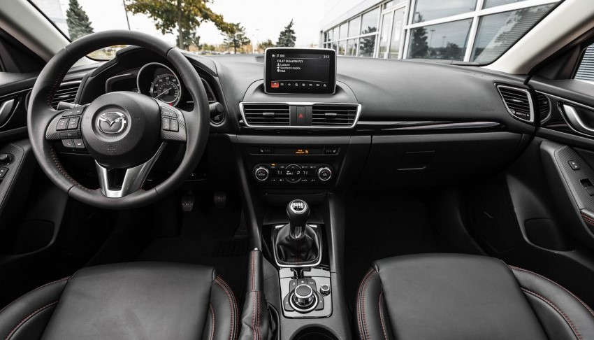 2022 Mazda3 Hatchback Interior